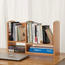 Book Jia bücherregale Bücherregal / Schreibtisch-Buch-Bücherregal-Studenten-Kind Einfacher Desktop-kleines Bücherregal-Speicher-Regal-Büro-kleines Bücherregal ( Farbe : 3 )