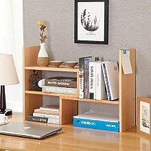 Book Jia bücherregale Bücherregal / Schreibtisch-Buch-Bücherregal-Studenten-Kind Einfacher Desktop-kleines Bücherregal-Speicher-Regal-Büro-kleines Bücherregal ( Farbe : 1 )