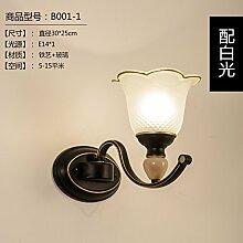 BOOTU LED Schlafzimmer Wand lampe Nachttischlampe