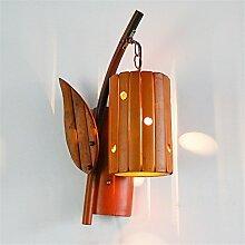 BOOTU LED Südostasiatische antiken Bambus lampe