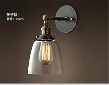 BOOTU LED Wandlampe Wandlampe Schlafzimmer