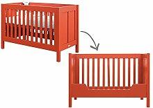 Bopita Tagesbett, Wood, Rot, Einzel