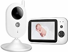 Boquite Babyphone, 3,5-Zoll-Digitalvideo-Babyphone