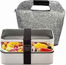 BOQUN 1200ml Bento Box Lunchbox Brotdose
