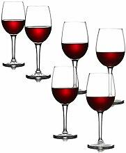 Bordeaux Großes gehärtetes Rotweinglas Weinglas