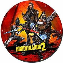 Borderlands 2 Wanduhren Wall Clock 20cm