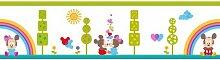 Bordüre Disney Baby, Minnie und Mickey Mouse, 5 m