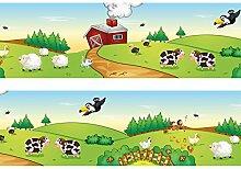Bordüre Farmleben Borde Wandborde 260cm Breite -