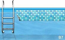 Bordüre Pool * Verzierung Poolrand * Borte