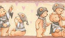 Bordüre selbstklebend mit Teddybären 8793-25