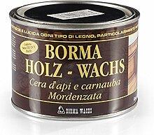 BORMA Bienenwachs Möbelwachs 500 ml (Schwarz)