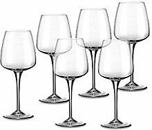 Bormioli Aurum Weinglas, transparent Set 6, durchsichtig, 350 ml