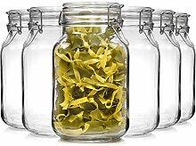 Bormioli Fido Gläser mit Bügelverschluss 6