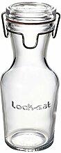 Bormioli Lock Eat Karaffe, Glas, transparent, 8x