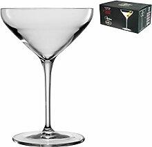 Bormioli Luigi Atelier Set Cocktail-Kelche, Schallglas, Transparent, 30 cl, 6 Stück