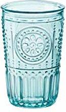 Bormioli Rocco 090789 Glas, Romantic, Blau, 4
