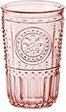 Bormioli Rocco 090796 Glas, Romantic, Rosa, cl 34