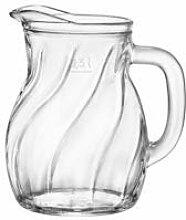 BORMIOLI ROCCO 092523 Twist Bistro Karaffe, Glas,
