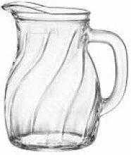 BORMIOLI ROCCO 092608 Twist Bistro Karaffe, Glas,