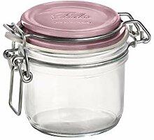 Bormioli Rocco 141360MRG121313 Fido-Glas mit rosa