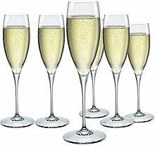 Bormioli Rocco 170061BF9021990 Champagner Glas, 6