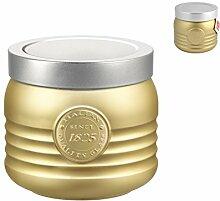 Bormioli Rocco 5118625Dose, Glas, Gold