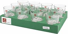 BORMIOLI ROCCO 75014 Naos/Arches Set 24 Gläser