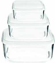 Bormioli Rocco Frischhaltedosen aus Glas,