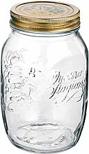 Bormioli Rocco Glas mit Edelstahldeckel, 12 Stück