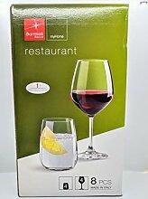 Bormioli Rocco Glas-Set, 8-teilig, transparen