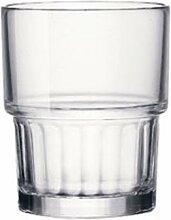 Bormioli Rocco Lyon Wasserglas 160ml, stapelbar,