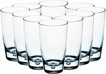 Bormioli Rocco S.p.A. 10x Wasserglas 450ml groß