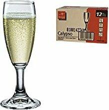 BORMIOLI ROCCO Set 12 Kelche Calypso Fluttino Cl10 Glas Weinglas Und Kelch