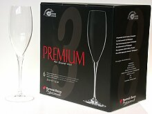 BORMIOLI ROCCO Set 12 Kelche Premium-Champagner Cl25 Glas Weinglas Und Kelch