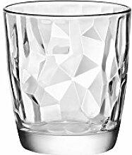 BORMIOLI ROCCO Set 5 Sätze 3 Glasgläser Diamant DOF cl39 Glas Weinglas und Kelch