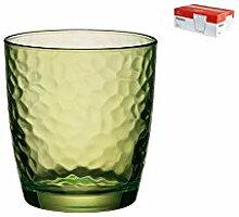 BORMIOLI ROCCO Set Von 6 Gläser Glas Grün Palatin Cl32 Glas Weinglas Und Kelch
