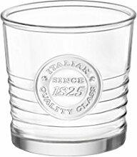 Bormioli Rocco Wasser Glas, Farblos, 10.25 oz.