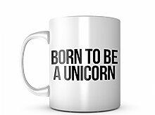 Born To Be A Unicorn Komisch Cool Animal Sarcastic