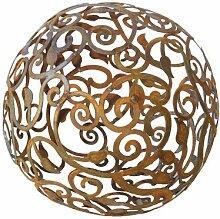 Bornhöft Barock Gartenkugel 40cm Metall Rost