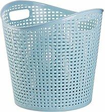 BOROK Wäschebehälter Plastik Wäschekorb