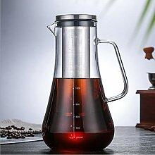 Borosilicatglas Kaffee, Tee und teilt Kaffee, Tee,