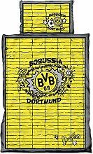 Borussia Dortmund Bettwäsche Graffiti BVB 09 -