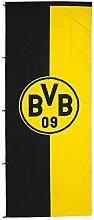 Borussia Dortmund BVB 89134400 Hissfahne 150x400cm