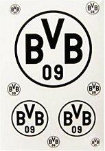 Borussia Dortmund BVB Aufkleber in schwarz 3