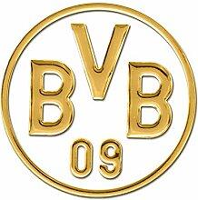 Borussia Dortmund BVB-Autoaufkleber Gold one Size