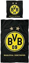 Borussia Dortmund BVB Bettwäsche mit Logo,