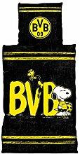 Borussia Dortmund BVB-Bettwäsche Snoopy (135 x