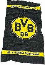 Borussia Dortmund BVB-Duschtuch Emblem 70x140 cm
