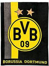 Borussia Dortmund BVB Fleecedecke mit
