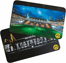 Borussia Dortmund BVB Frühstücksbrettchen Set